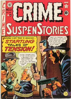 Crime SuspenStories #2. Click for current values.