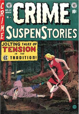 Crime SuspenStories #21. Click for current values.