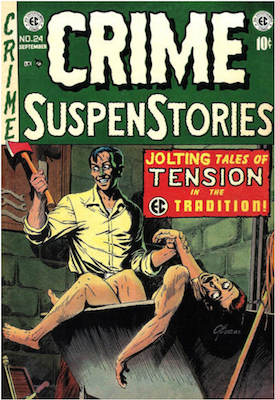 Crime SuspenStories Comic Book Values