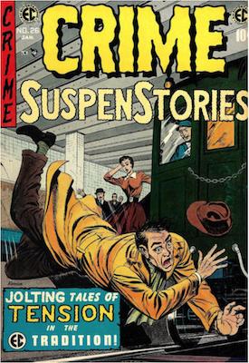 Crime SuspenStories #26. Click for current values.