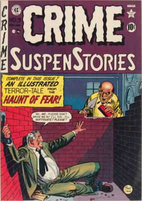 Crime SuspenStories #3. Click for current values.