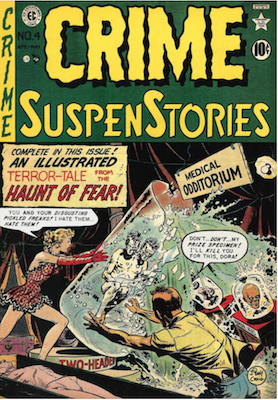 Crime SuspenStories #4. Click for current values.