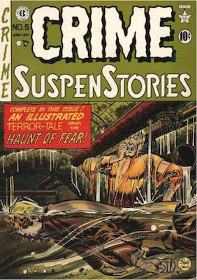Crime SuspenStories #5. Click for current values.