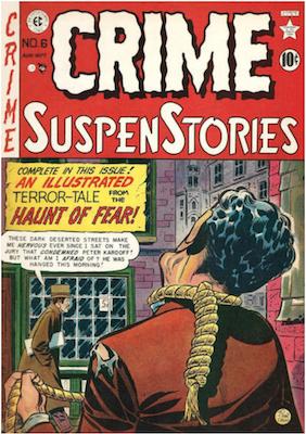 Crime SuspenStories #6. Click for current values.
