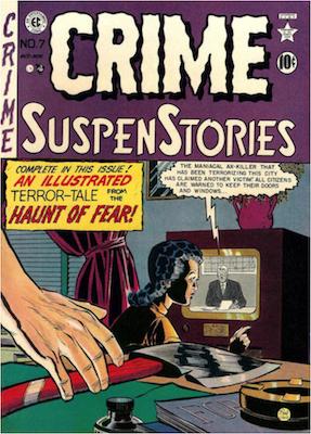 Crime SuspenStories #7. Click for current values.