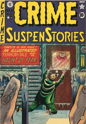 Crime SuspenStories #8. Click for current values.