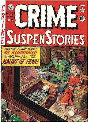 Crime SuspenStories #9. Click for current values.
