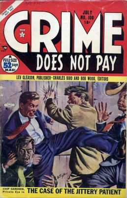 Crime does not Pay #100. Click for current values.