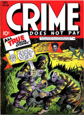 Crime does not Pay #29. Click for current values.