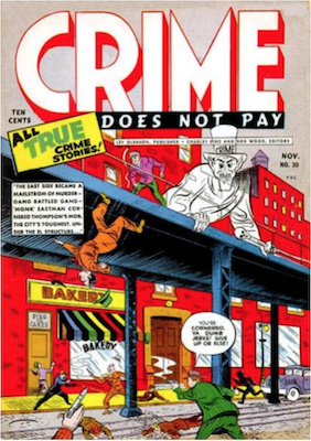 Crime does not Pay #30. Click for current values.