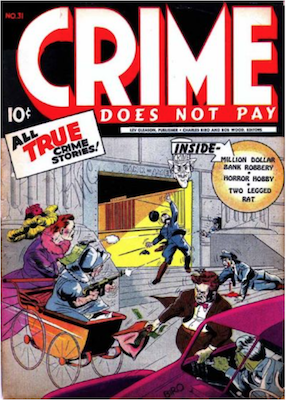 Crime does not Pay #31. Click for current values.