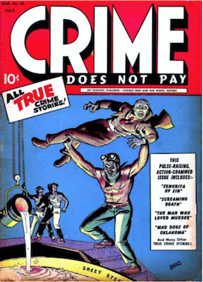 Crime does not Pay #32. Click for current values.