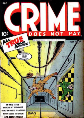 Crime does not Pay #34. Click for current values.