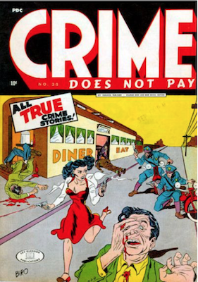 Crime does not Pay #36. Click for current values.