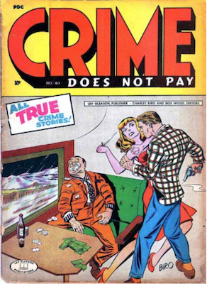 Crime does not Pay #40. Click for current values.