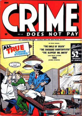 Crime does not Pay #41. Click for current values.