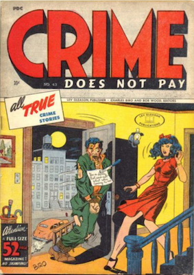 Crime does not Pay #43. Click for current values.