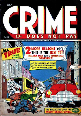 Crime does not Pay #44. Click for current values.