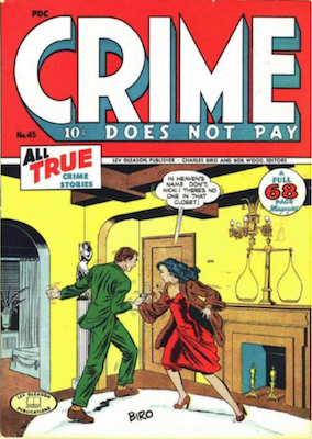 Crime does not Pay #45. Click for current values.
