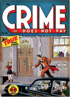 Crime does not Pay #46. Click for current values.