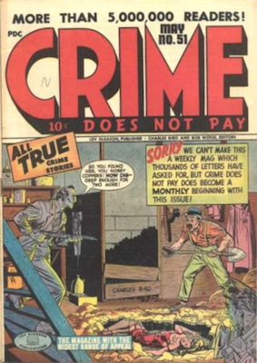 Crime does not Pay #51. Click for current values.