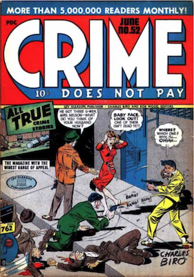 Crime does not Pay #52. Click for current values.