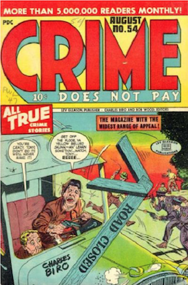 Crime does not Pay #54. Click for current values.