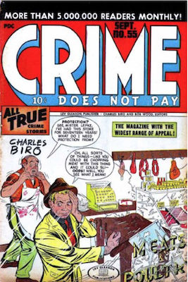 Crime does not Pay #55. Click for current values.