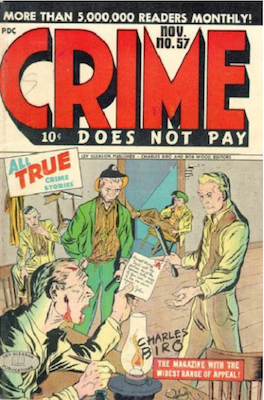 Crime does not Pay #57. Click for current values.
