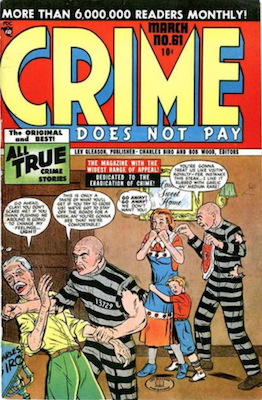 Crime does not Pay #61. Click for current values.