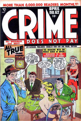 Crime does not Pay #62. Click for current values.