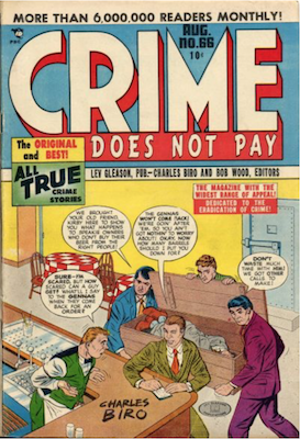 Crime does not Pay #66. Click for current values.