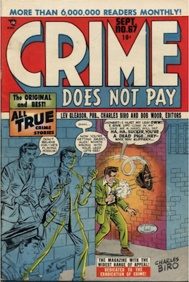Crime does not Pay #67. Click for current values.