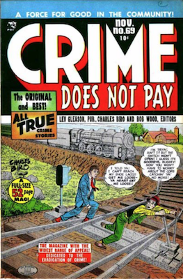 Crime does not Pay #69. Click for current values.