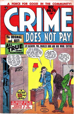 Crime does not Pay #70. Click for current values.