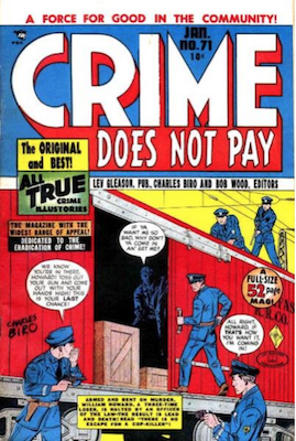 Crime does not Pay #71. Click for current values.