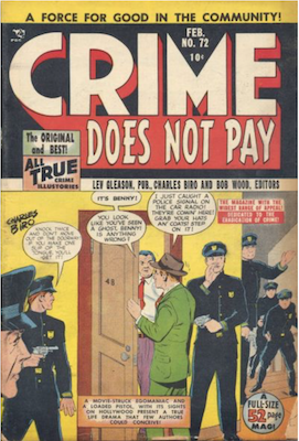 Crime does not Pay #72. Click for current values.