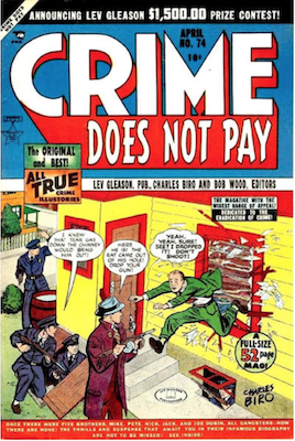 Crime does not Pay #74. Click for current values.