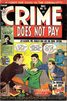 Crime does not Pay #75. Click for current values.