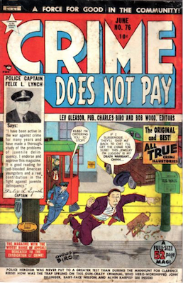 Crime does not Pay #76. Click for current values.