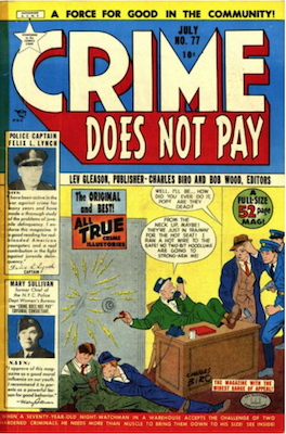 Crime does not Pay #77. Click for current values.