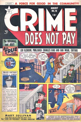 Crime does not Pay #78. Click for current values.