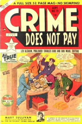 Crime does not Pay #79. Click for current values.