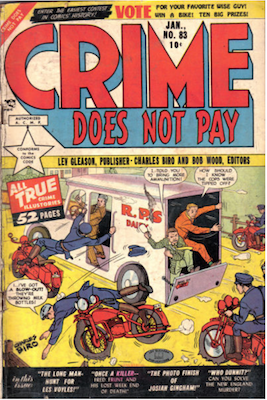 Crime does not Pay #83. Click for current values.