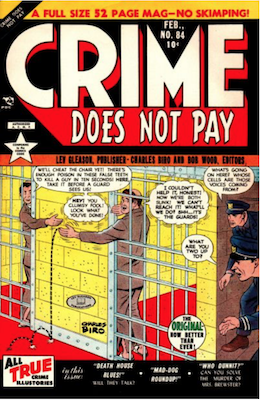 Crime does not Pay #84. Click for current values.