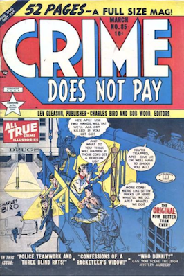 Crime does not Pay #85. Click for current values.