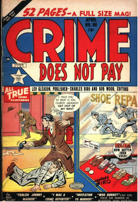 Crime does not Pay #86. Click for current values.