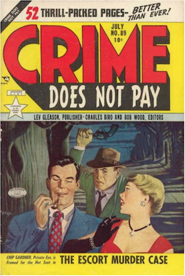 Crime does not Pay #89. Click for current values.