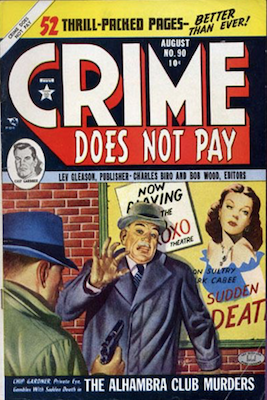 Crime does not Pay #90. Click for current values.