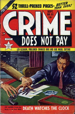 Crime does not Pay #91. Click for current values.